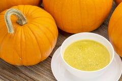 Суп тыквы cream Стоковые Изображения RF