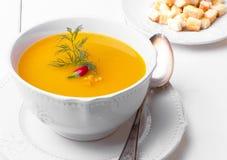 Суп тыквы cream Стоковая Фотография RF