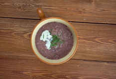 Суп лука Стоковое фото RF
