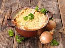 Суп лука Стоковое Изображение RF