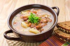 Суп фасоли стоковые изображения