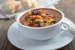 Суп фасоли 3 стоковое фото rf