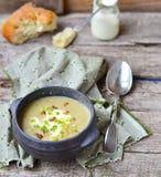 Суп фасолей стоковое фото