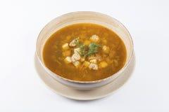 Суп фрикадельки Стоковая Фотография RF