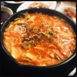 Суп хиа Ким стоковые фотографии rf