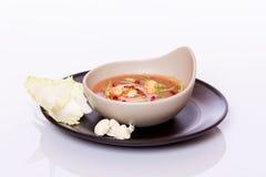 Суп цветной капусты сметанообразный Стоковые Фото