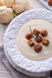 Суп цветной капусты cream Стоковая Фотография RF