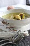 Суп цыпленка ясный стоковые изображения rf