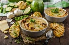 Суп чеснока Стоковые Изображения RF
