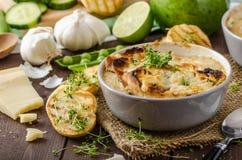 Суп чеснока Стоковое Фото