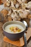 Суп чеснока cream Стоковое фото RF