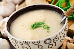 Суп чеснока cream Стоковая Фотография RF