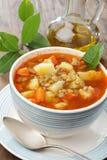 суп чечевицы Стоковое Изображение
