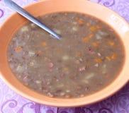 Суп чечевиц Стоковая Фотография