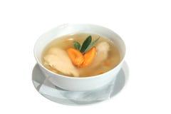 суп шалфея цыпленка морковей шара Стоковые Изображения