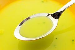 Суп шпината Стоковая Фотография RF