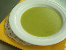 суп 2 лук-пореев Стоковые Фото
