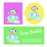 Суп Bubble2 Стоковое Изображение