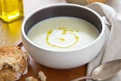 суп cauliflower Стоковое фото RF