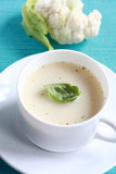 суп cauliflower Стоковое Изображение RF