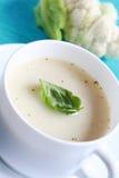суп cauliflower Стоковое Изображение