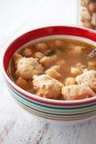 суп meatballs Стоковые Фотографии RF