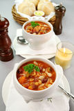 суп minestrone Стоковое фото RF