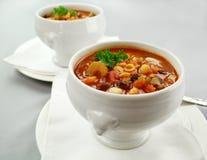 суп minestrone Стоковые Изображения