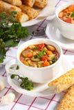 суп minestrone Стоковые Фото