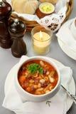 суп minestrone Стоковое Изображение