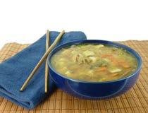 суп miso шара здоровый Стоковые Изображения