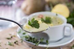Суп Potatoe Стоковые Изображения