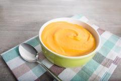 суп pureed Морков-картошкой Стоковые Изображения RF