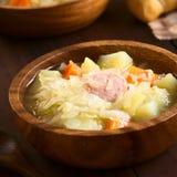 Суп Sauerkraut стоковое фото rf