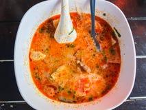 Суп Tom jap Kuay yum Стоковые Фото