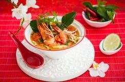 Суп Tom Yum стоковые изображения rf