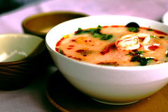 Суп Tom Yum Стоковая Фотография RF