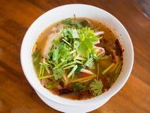 Суп Tom Yum стоковая фотография