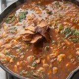 Суп tortilla цыпленка Стоковые Фотографии RF