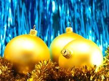 сусаль рождества baubles стоковое фото