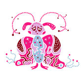 Суть твари изверга вирус любит бабочка бактерий Стоковые Фотографии RF