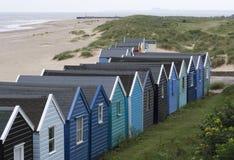 суффольк southwold Англии пляжа Стоковая Фотография RF
