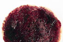 Сухари с вареньем плодоовощ стоковое фото rf