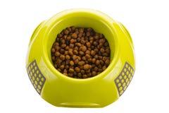 Сухая еда в шаре Стоковое Фото