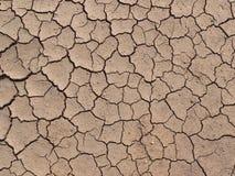 сухая земная текстура Стоковая Фотография RF