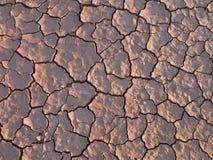 Сухая земля с структурой Стоковая Фотография RF