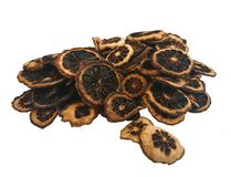Сухая известка kaffir изолированная на белизне Стоковые Фотографии RF