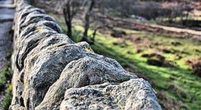 Сухая каменная стена Стоковое Изображение RF