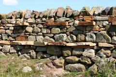 Сухая каменная стена, Стоковая Фотография