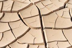 Сухая почва в пустыне Стоковые Фото